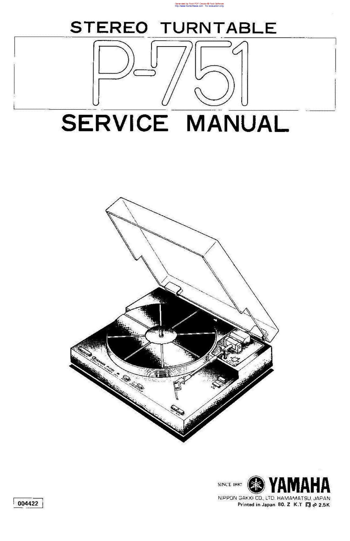 Yamaha Aw Sm Service Manual Download Schematics