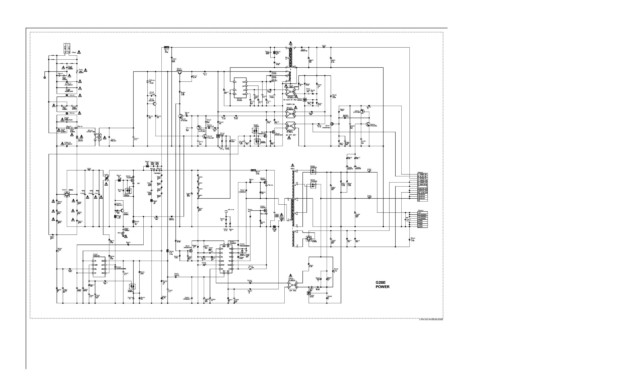 Sony Gf2 1 873 814 13 L Cxd P Mip2h2 Sch Service