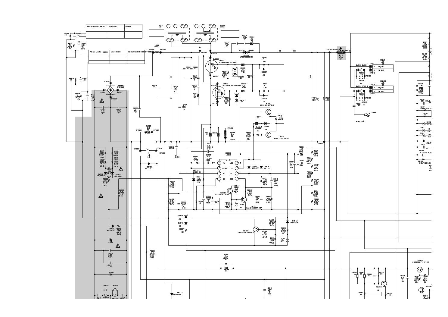 Sony G3 1 872 986 13 L Cxd P Mip2h2 Sch Service Manual Download Schematics Eeprom