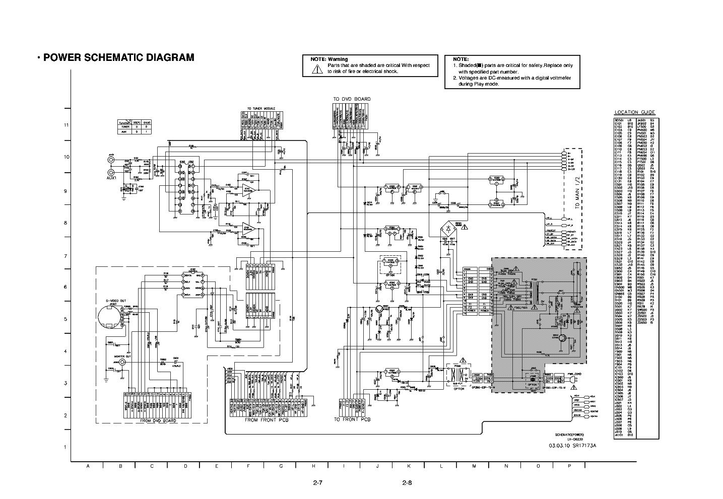 Lg Usp490m 42lp Pdp42v6 Plasma Tv Power Supply Schematic