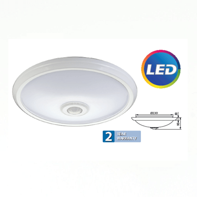 LED plafonjera 12W sa senzorom pokreta Elektro Vukojevic