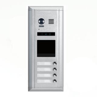 Interfon vanjska pozivna jedinica sa 4 tipke IP43 Elektro Vukojevic