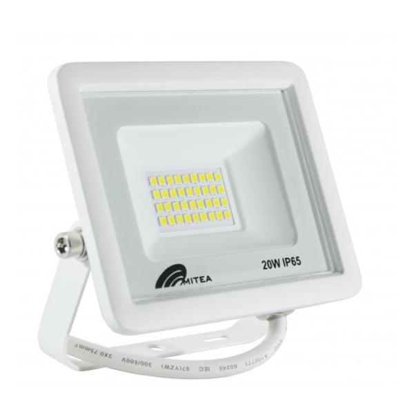 Eco LED reflektor 20W 6500K 1700lm Bijeli Mitea Elektro Vukojevic