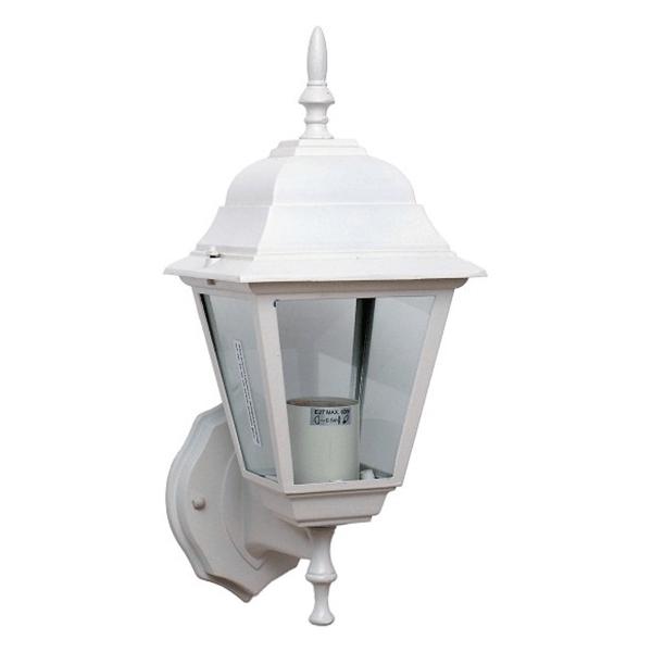 Bastenska lampa fenjer max.1x60W E27 IP44 Bijela Mitea Elektro Vukojevic