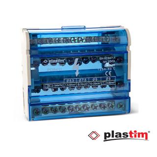 Distributivna klema 4-polna 125A Plastim Elektro Vukojevic