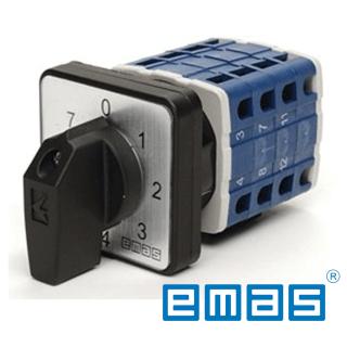 Grebenasti prekidač 0-7, 1-polni, 20A IP54 EMAS Elektro Vukojevic