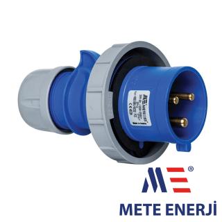Industrijski utikač 3x32A IP67 Mete Enerji Elektro Vukojevic