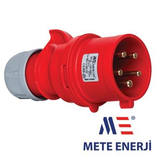 Industrijski utikač 5x32A IP44 Mete Enerji Elektro Vukojevic