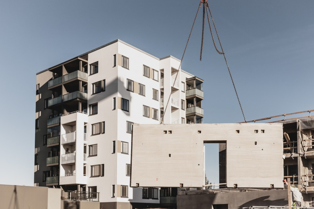 Sustainable precast construction is one of the trends.