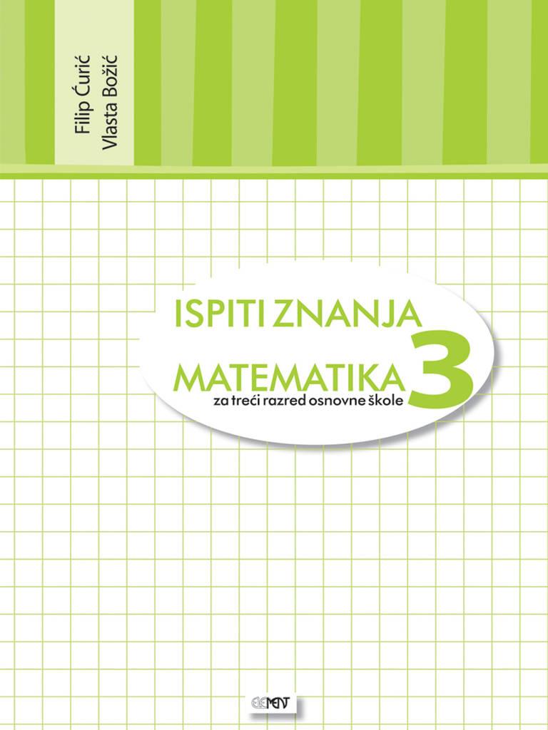 Matematika 3 Ispiti Znanja Element D O O Za Nakladnistvo