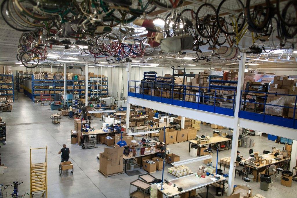 Part of Park Tool's 85,000 square-foot facility near St. Paul, MN. Photo: David Pierini/Element.ly