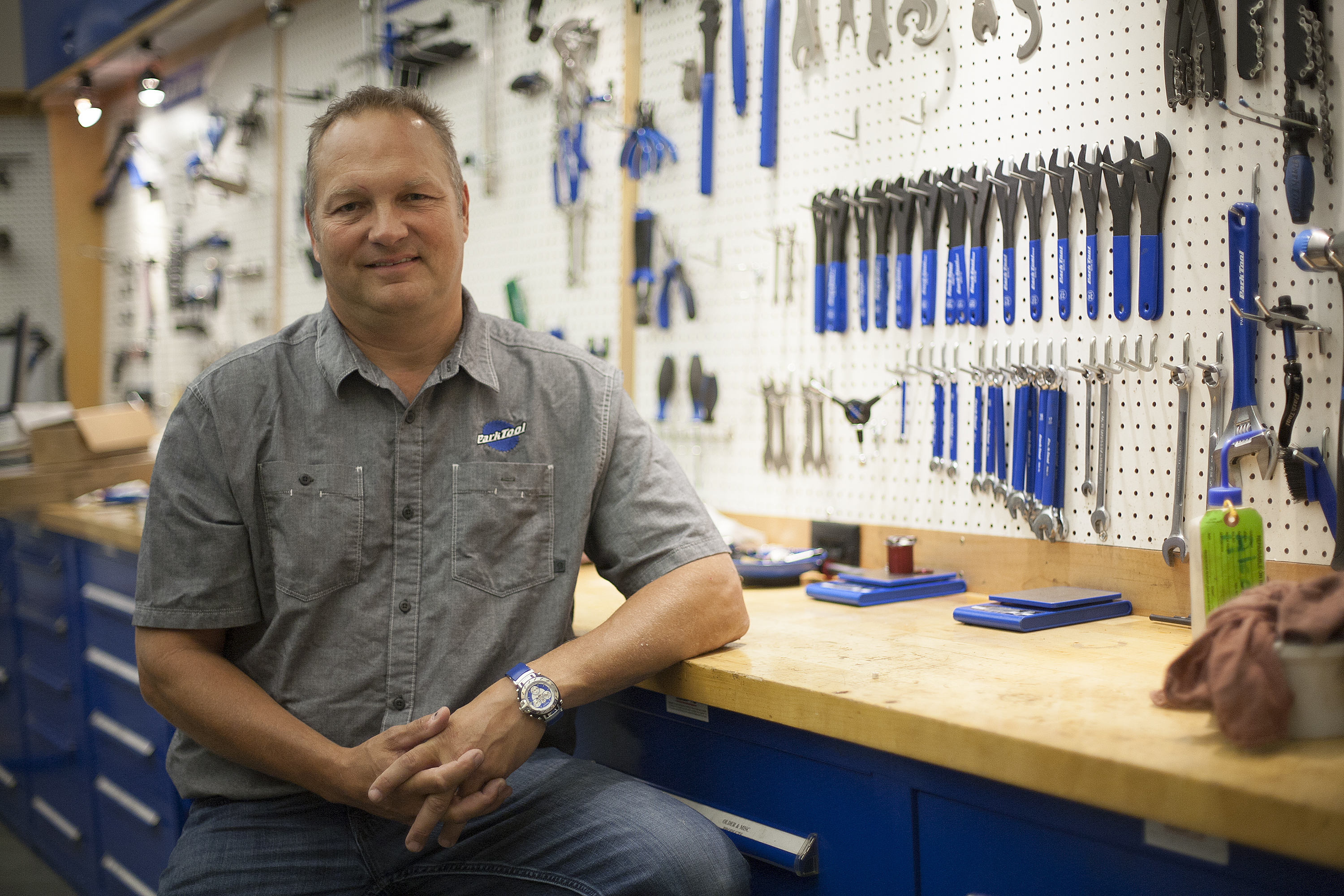 Park Tool CEO Eric Hawkins. Photo: David Pierini/Element.ly