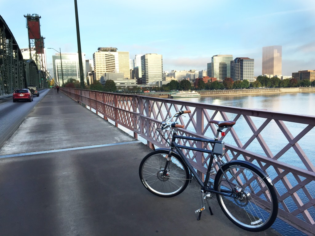 The Faraday Porteur S e-bike in Portland
