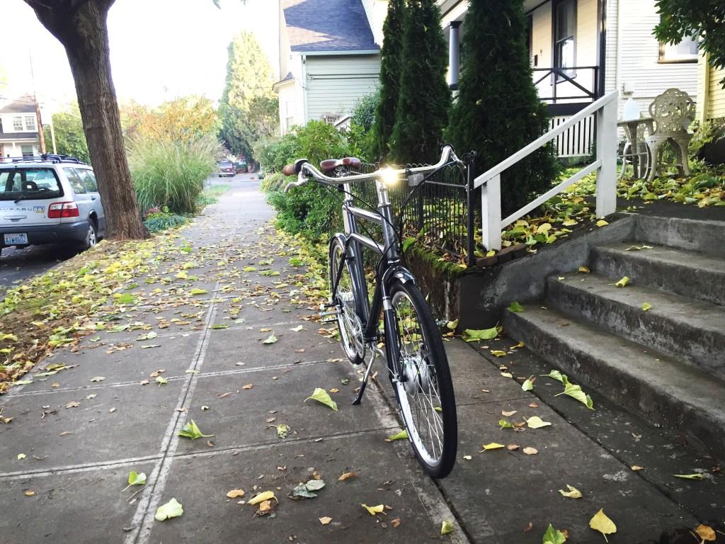 The Faraday Porteur S e-bike in Portland