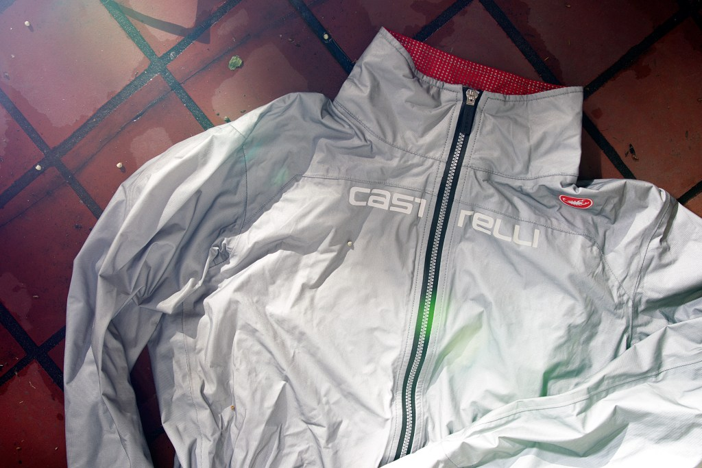 The Castelli Tempesta jacket. Photo: Jim Merithew/Element.ly