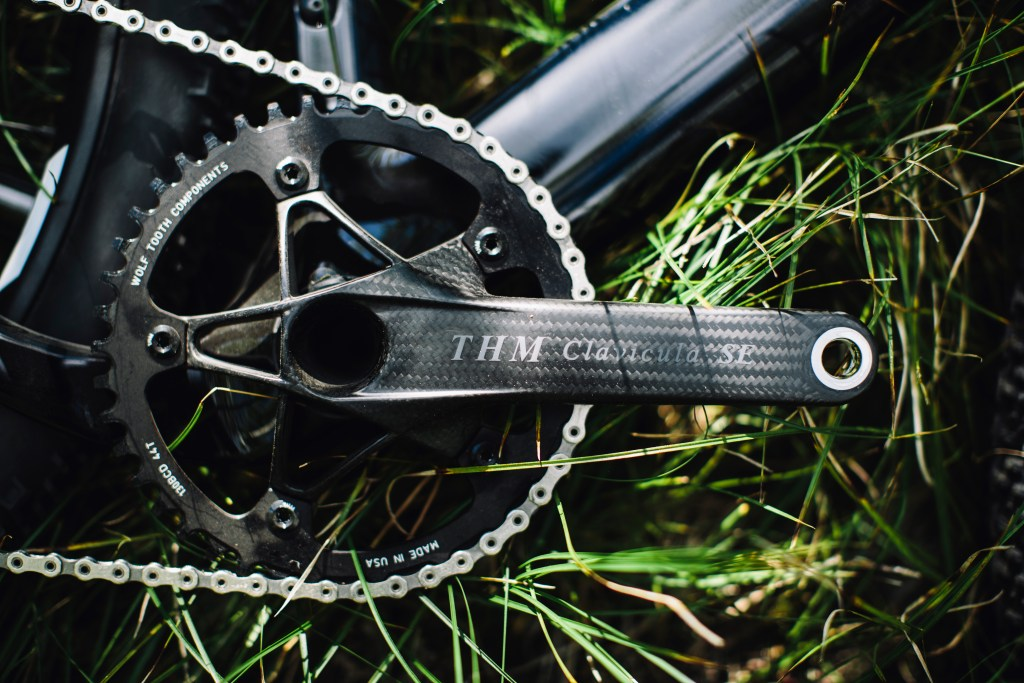 THM Calavicula SE crankset. Bling. Photo: Stephen Lam/element.ly