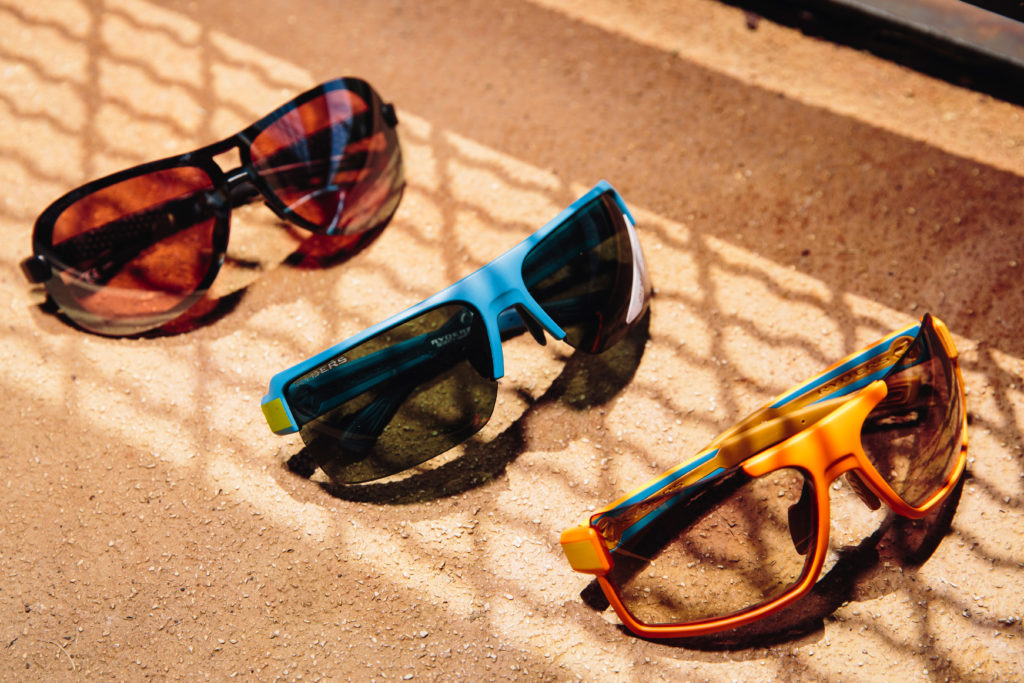 (L-R) Aero, Seventh and Incline by Ryders Eyewear. Photo: Stephen Lam/element.ly