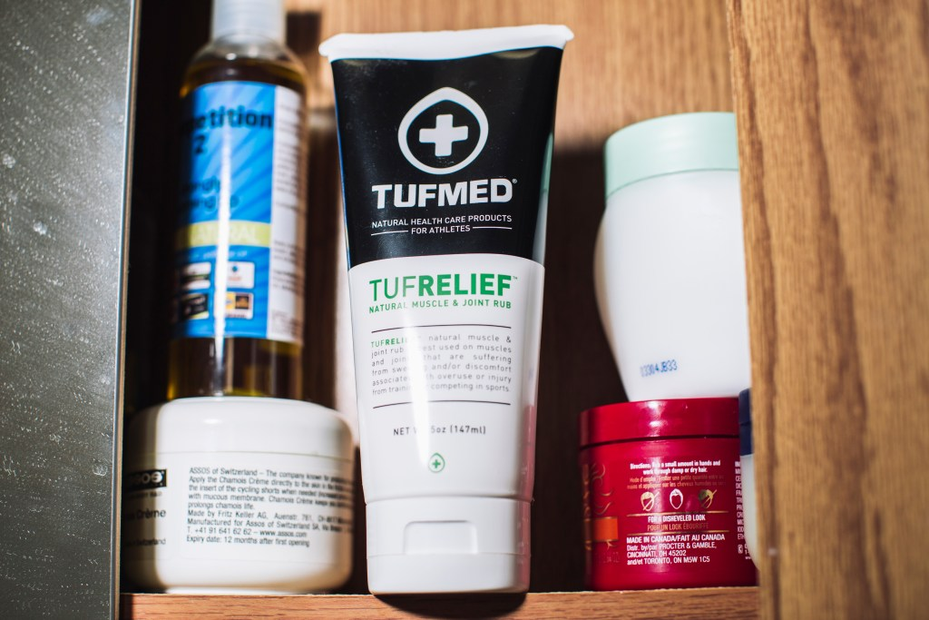 TUFMED TUFRELIEF rub. Photo: Stephen Lam/element.ly