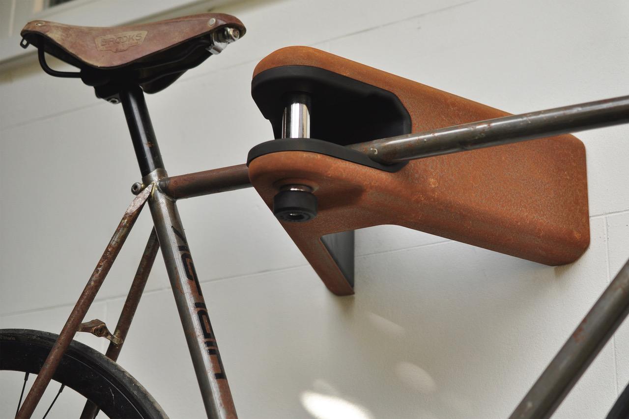 Hiplok Airlok Custom in rust finish