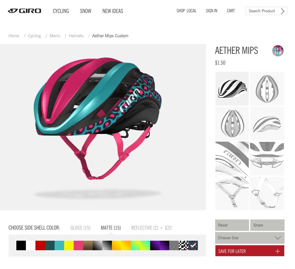 Giro Aether Custom