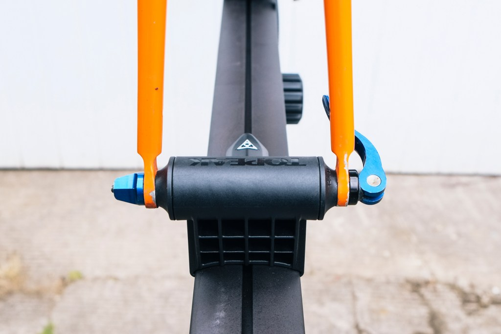 Topeak Prepstand X bicycle repair stand review fork mount
