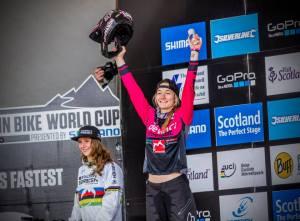 Tahnée Seagrave, Fort William World Cup podium 2015
