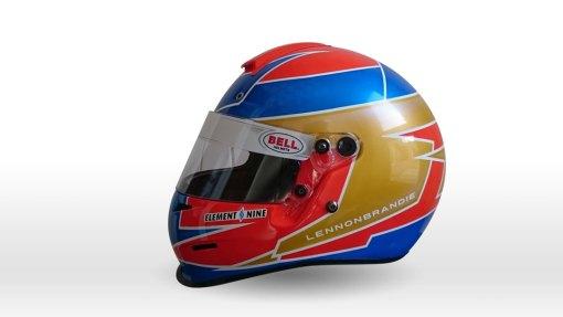 Lennon Brandie's Bell KC3 Karting Helmet