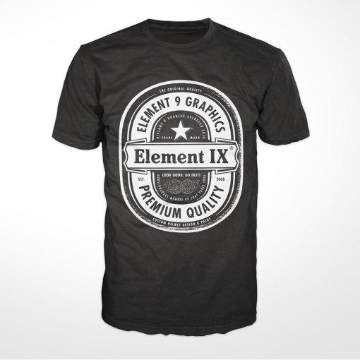 e9g beer label t-shirt