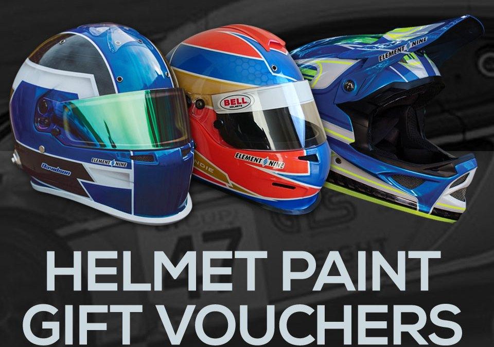 Helmet Paint Gift Vouchers Now Available