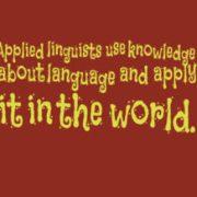 Element 14 – Applied Linguistics