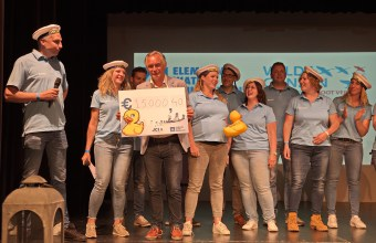 JCI Volcke Rack Contribute €15.000,40 to help Efoetsy