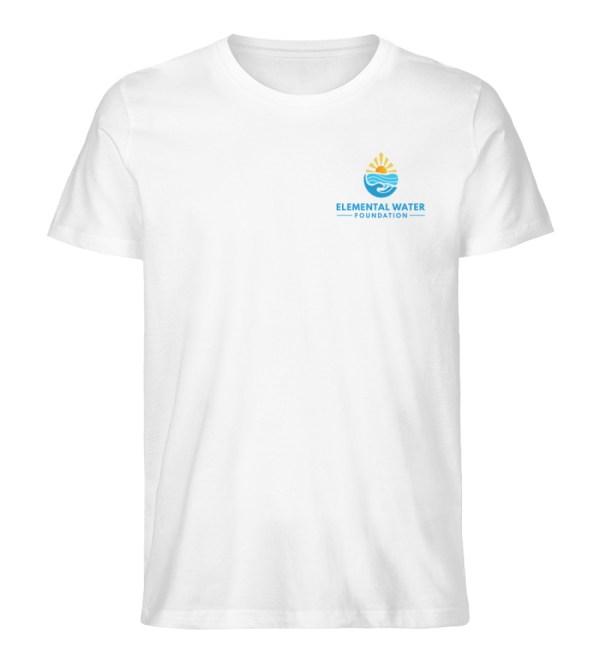 Organic T-shirt with Colourful Logo - Men Premium Organic Shirt-3