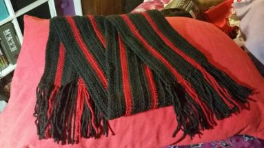 A scarf for Cameron.