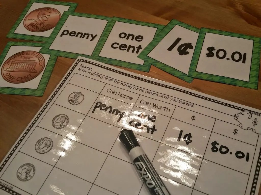 Teaching Money In Primary Grades