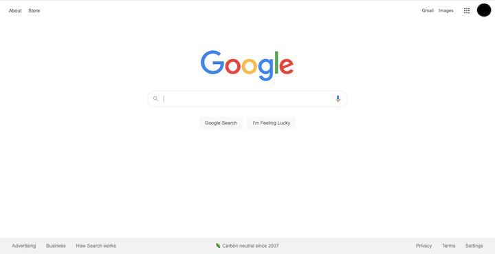 google-white-space-design