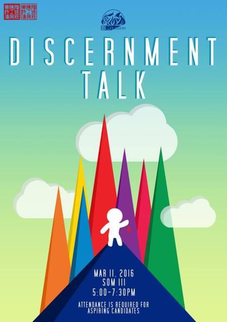 Discernment Talk