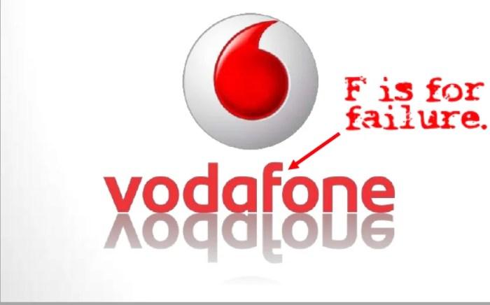 Vodafone fail