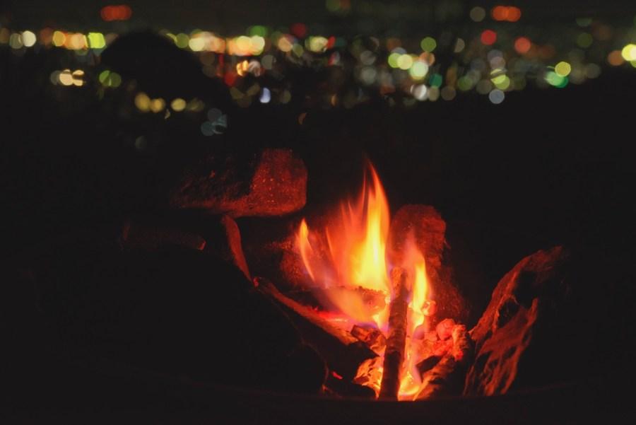 あなたを暖める火