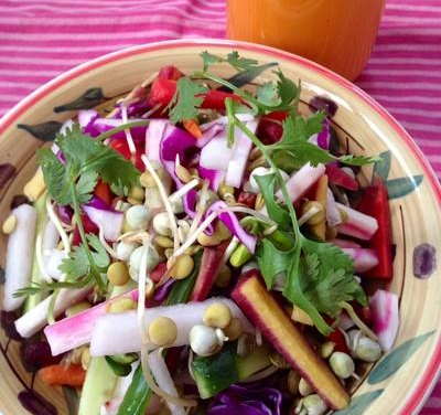 Spring  Sprout  Salad