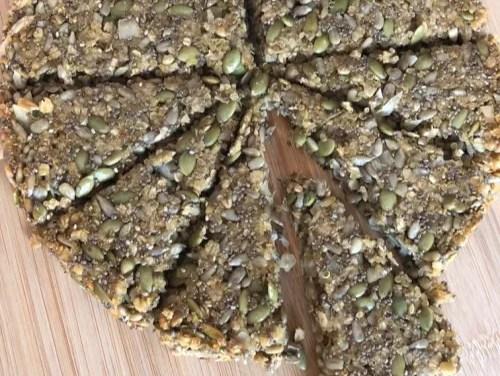 Seedy Quinoa Bars
