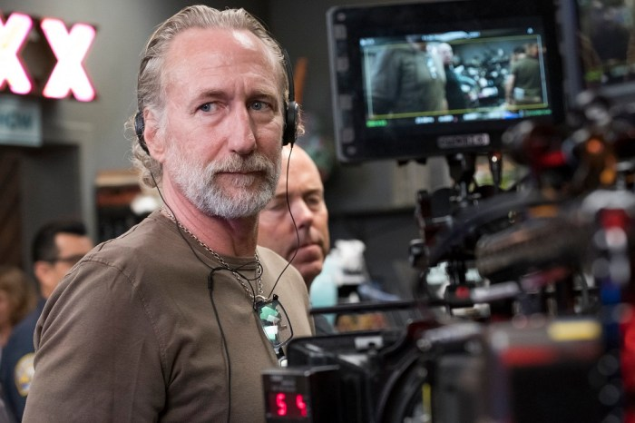 Director Brian Henson on the set of The Happytime MurdersCourtesy of STXfilms