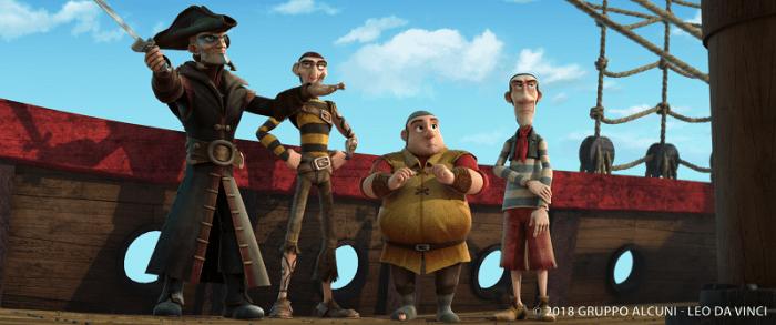 Pirate Captain and Pirates Negotiate in Leo Da Vinci_ Mission Mona Lisa (1)
