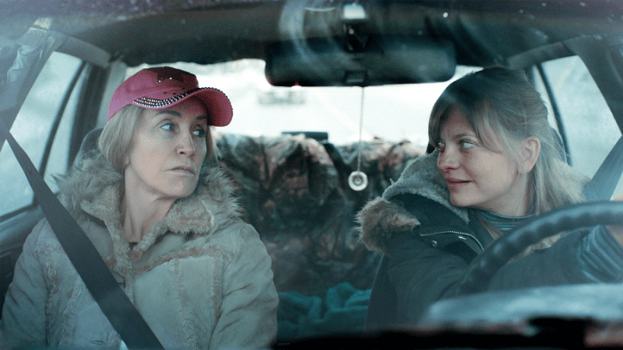 Felicity Huffman and Anastasia Phillips in TAMMY'S ALWAYS DYING