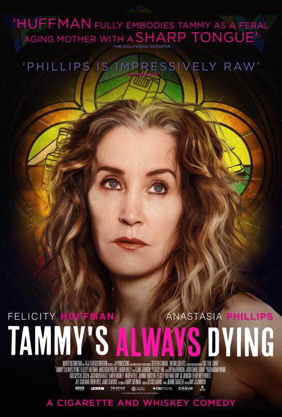 TAMMYS ALWAYS DYING poster