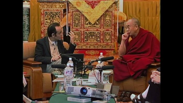 Francisco Varela and Dalai Lama