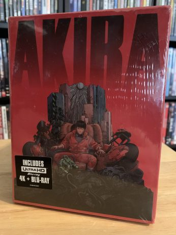 Front: Akira 4K UHD Limited Edition set.