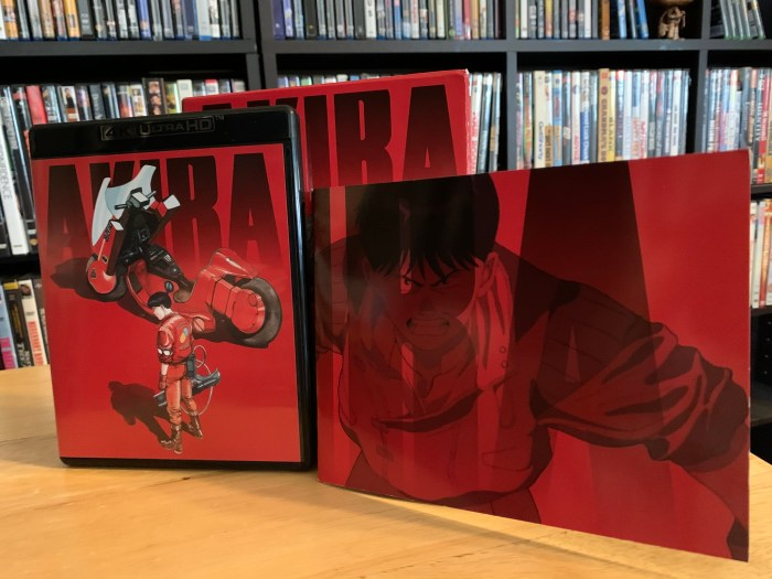 Akira 4K UHD Limited Edition set with booklet