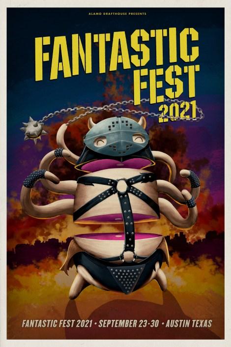LORD_CHINGU_OUTLINE: Fantastic Fest 2021 poster