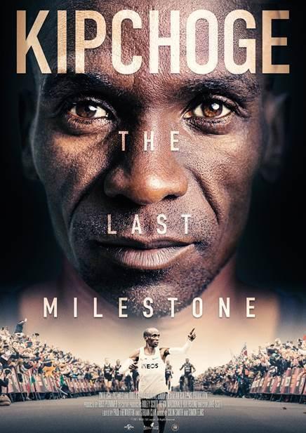 KIPCHOGE the Last Milestone poster
