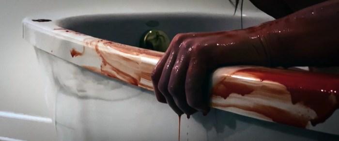 FAYE BLOODDY HAND